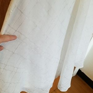 J. Crew Dresses - J. Crew Spaghetti Strap White Cotton Dress Size 2